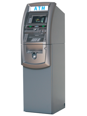 GENMEGA G2500 ATM FOR SALE SIDE VIEW
