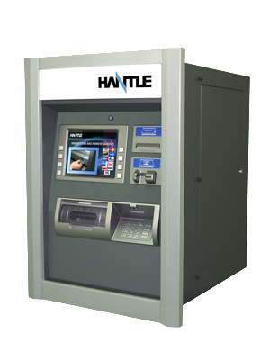 HANTLE T4000 ATM FOR SALE SIDE VIEW