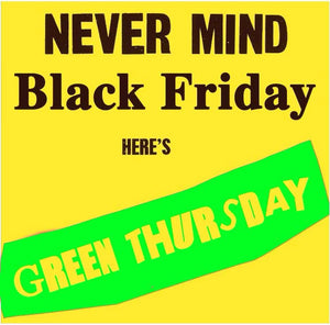 Green Thursday discounts on Plant Geek Gear !