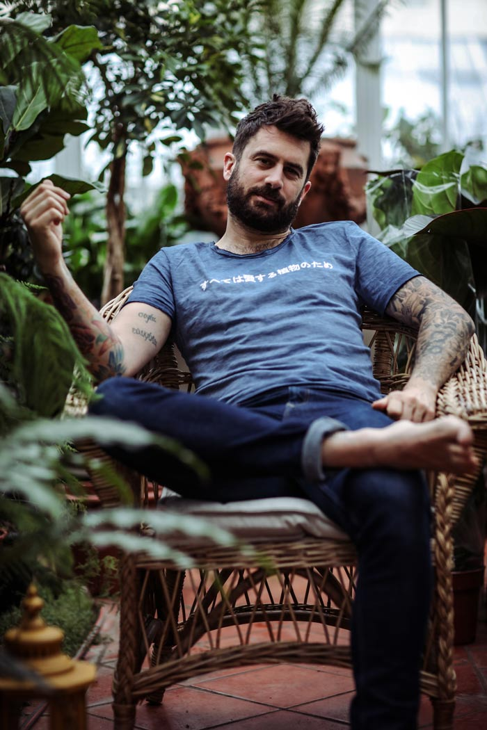 Mr Plant Geek clothing range is launched