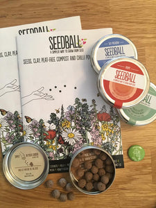 The future of seed sowing: introducing the seedball