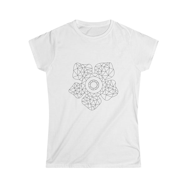 Virtual Garden Rafflesia Light Women's Softstyle Tee