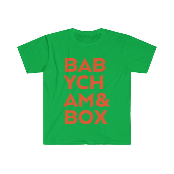 Babycham & Box Men's Fitted Short Sleeve Tee