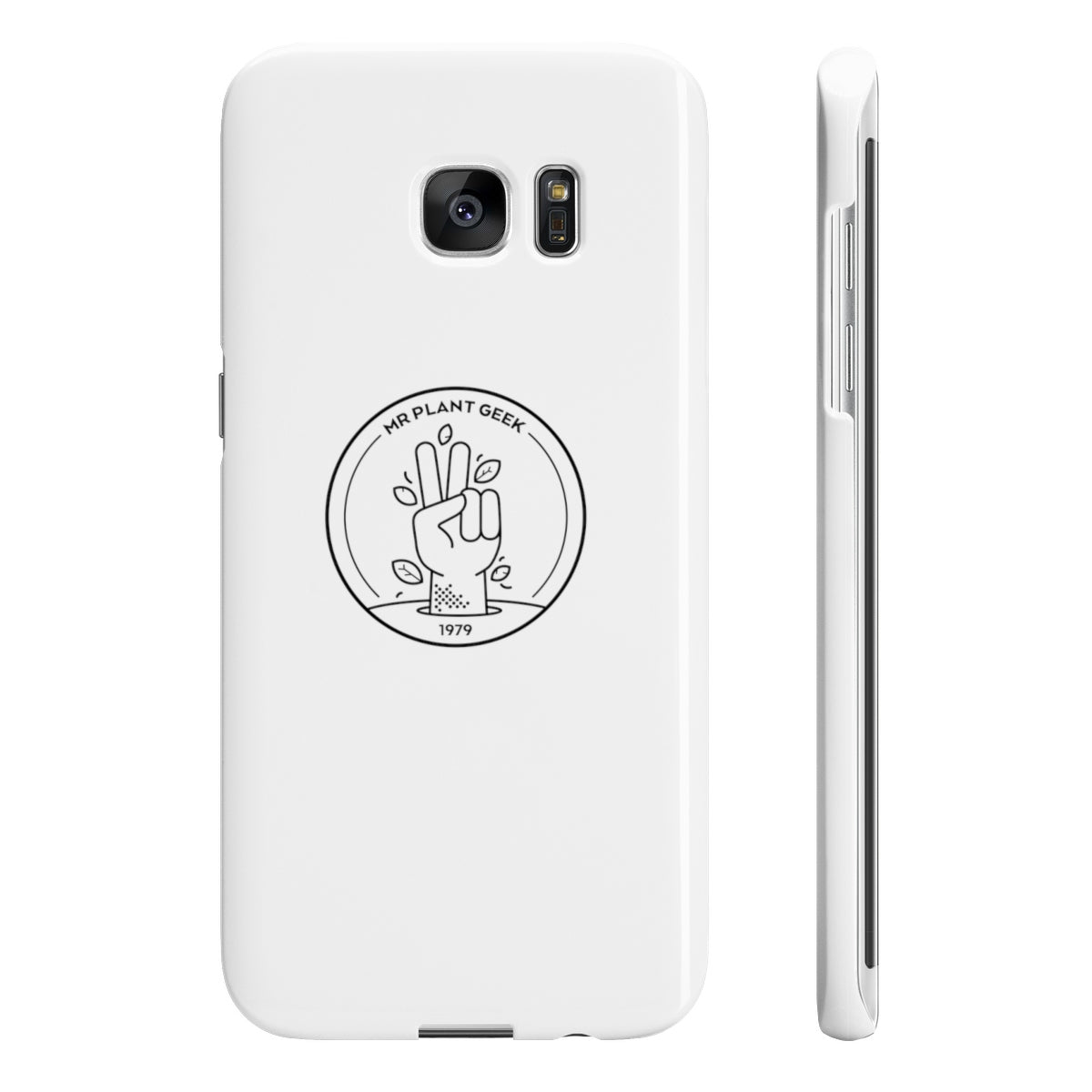 Mr Plant Geek Slim Phone Case
