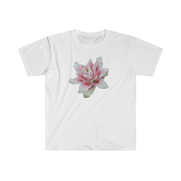 Doubleflowered Lily Men's Fitted Short Sleeve Tee