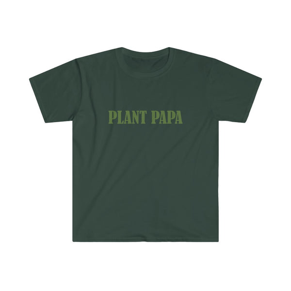 Plant Papa Men's Fitted Short Sleeve Tee