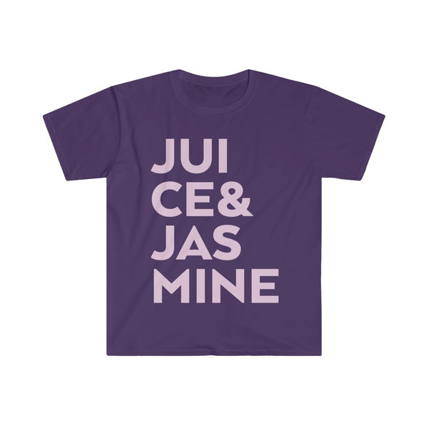 Juice & Jasmine Men's Fitted Short Sleeve Tee