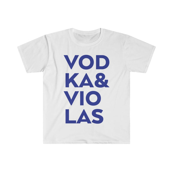 Vodka & Violas Men's Fitted Short Sleeve Tee