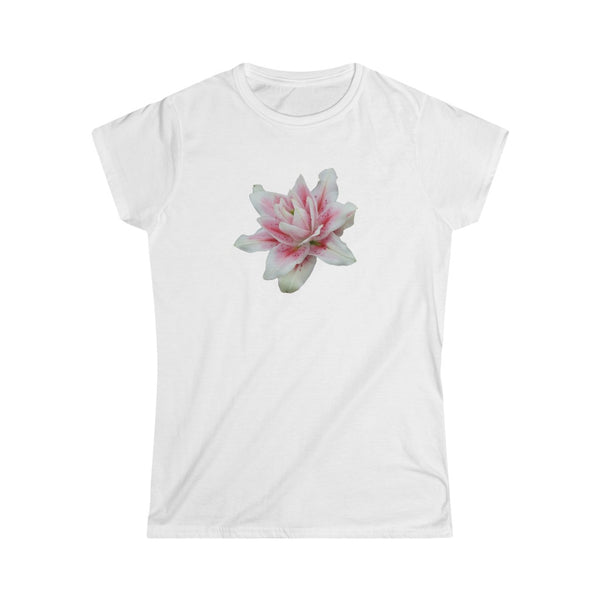 Doubledflowered Lily Women's Softstyle Tee