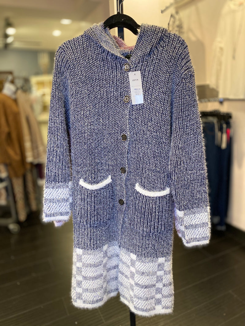 Checkmate Sweater coat
