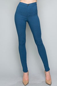 High Waist Stretch Jean