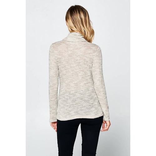 Knit Long Sleeve TurtleNeck