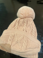 Knit hat w Face Cover
