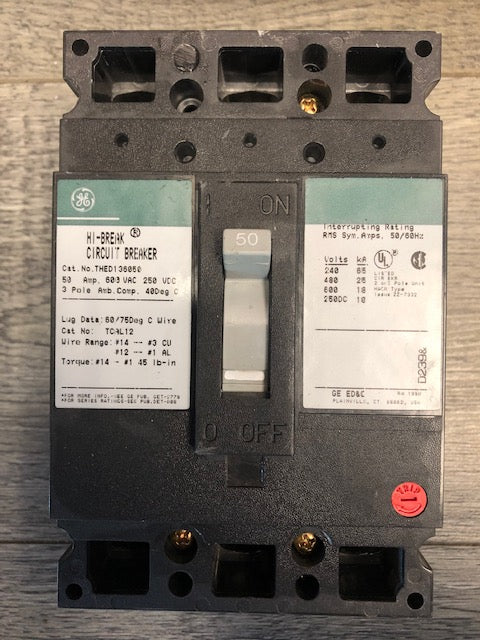 General Electric Breaker THED136050