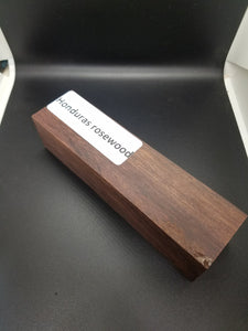 Honduras Rosewood Exotic Spindle - Oakbrook Wood Turning Supply