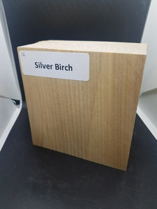 silver birch - Oakbrook Wood Turning Supply