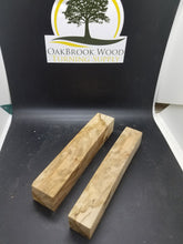 Maple root burl pen blank