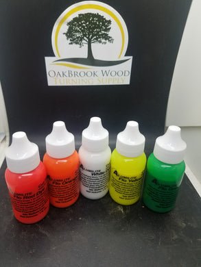 Dye for casting Flo green - Oakbrook Wood Turning Supply