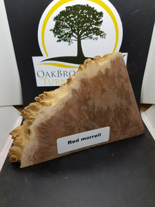 casting Morrell burl - Oakbrook Wood Turning Supply
