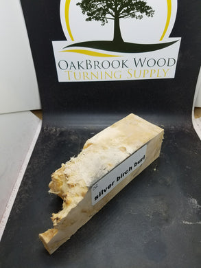 silver birch burl - Oakbrook Wood Turning Supply