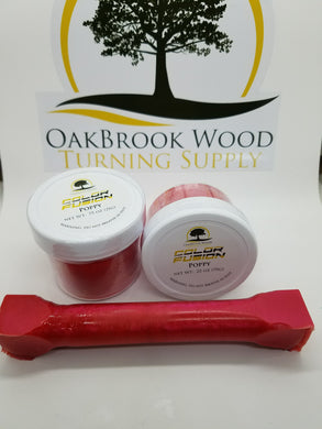 Color Fusion Poppy - Oakbrook Wood Turning Supply