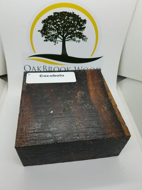 Cocobolo - Oakbrook Wood Turning Supply