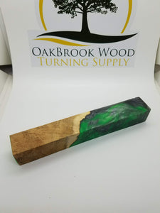 Resin Pen Blank - Oakbrook Wood Turning Supply
