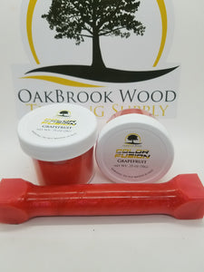 Color Fusion Grapefruit - Oakbrook Wood Turning Supply