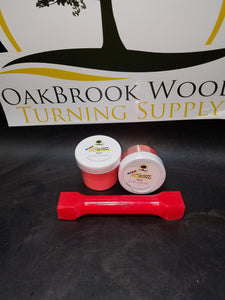 Color Fusion Neon Red - Oakbrook Wood Turning Supply