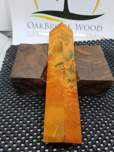 Pen Blank Box Elder Burl - Oakbrook Wood Turning Supply
