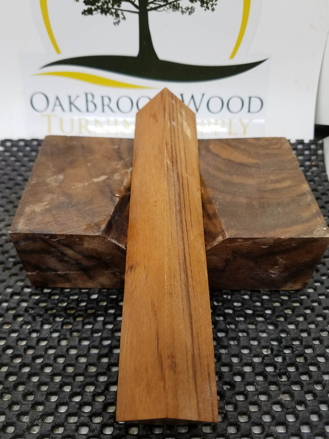 Pen Blank Tiger wood - Oakbrook Wood Turning Supply
