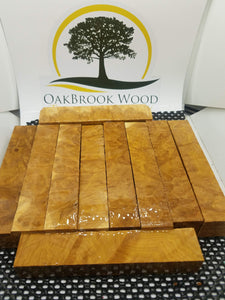 Yellow Box Burl - Oakbrook Wood Turning Supply