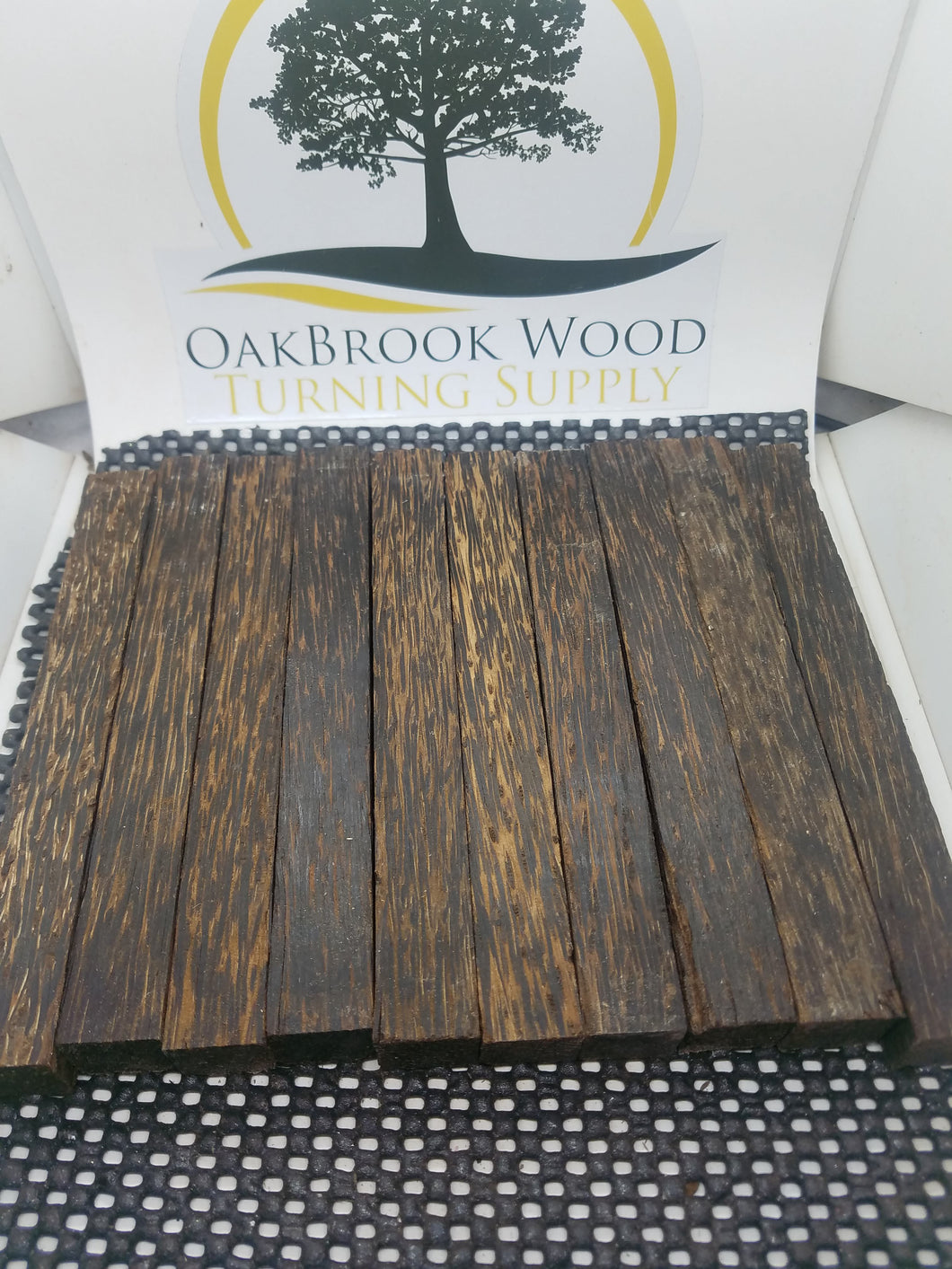 Black Palm - Oakbrook Wood Turning Supply