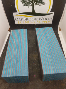 Spectraply Dark Aqua - Oakbrook Wood Turning Supply
