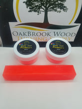 Color Fusion GLOW IN THE DARK RED - Oakbrook Wood Turning Supply