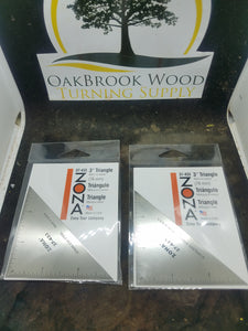 Zona 3 inch triangle - Oakbrook Wood Turning Supply