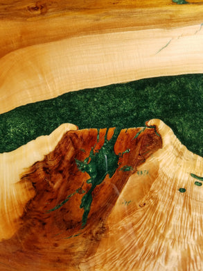 Color Fusion Evergreen - Oakbrook Wood Turning Supply