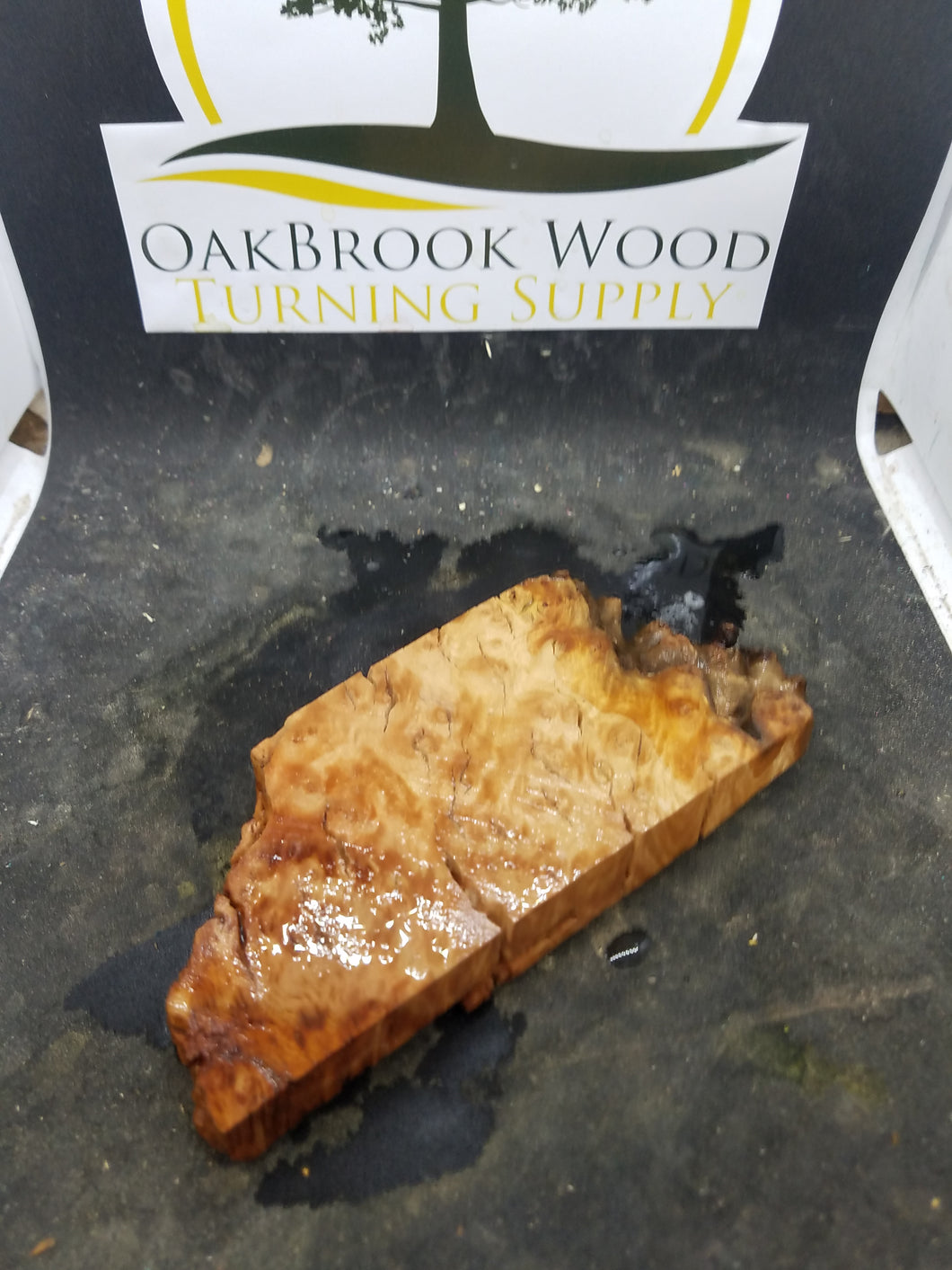 Casting eucalyptus burl - Oakbrook Wood Turning Supply