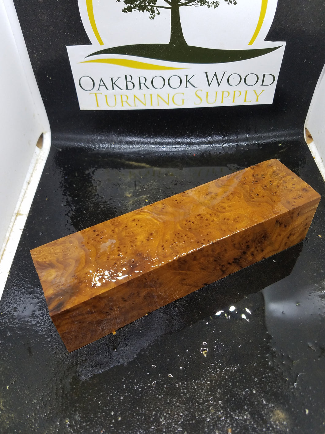 Stabilized Russian oliveburl