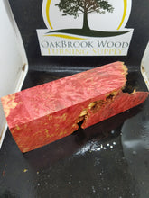 Casting box elder burl