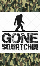 Gone Squatchin - Oakbrook Wood Turning Supply