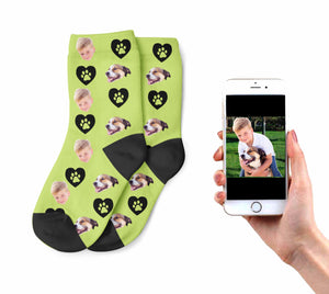 Kids Dog Owner Socks