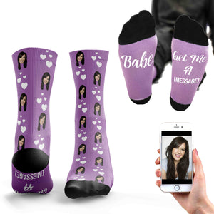 Babe, Get Me A ... Personalised Socks