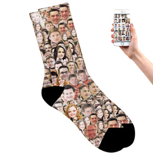 Friends Faces On Socks