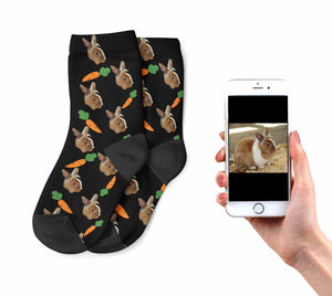 Kids Rabbit on Socks