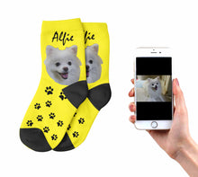 Kids Personalised Dog Socks