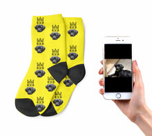 Kids King Dog Socks