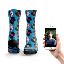 Vinyl Record Socks