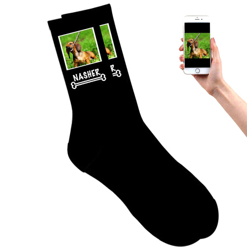 Dog Photo Socks