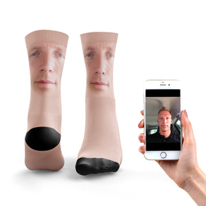 Blended Face Socks